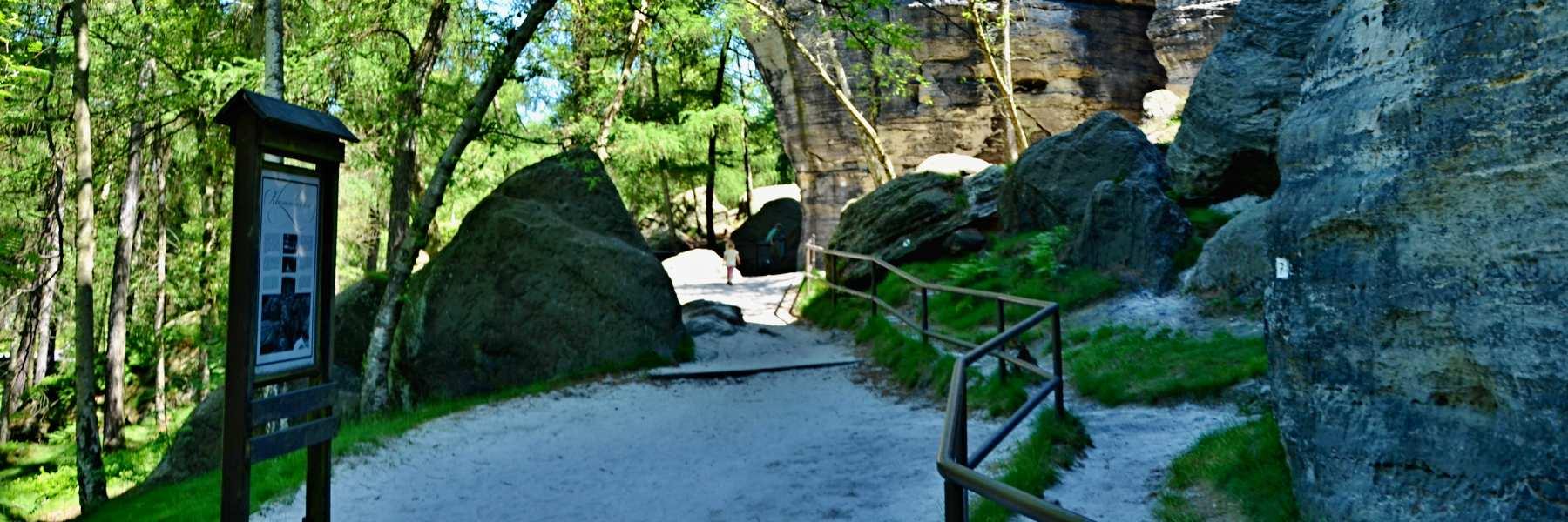 skalní město Tisá