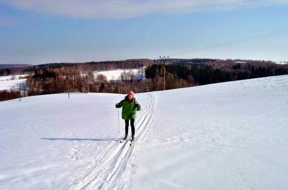 Běžky poblíž Tisé