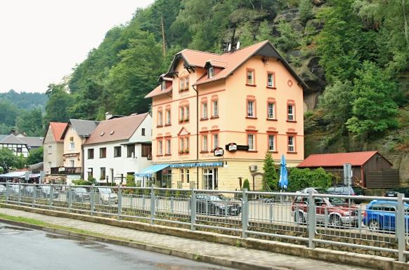 Hřensko Penzion Lugano